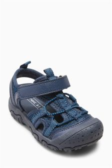 Bumper Toe Trekker Sandals (Younger)