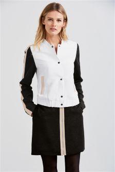Varsity Rib Mini Skirt