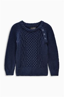 Cable Crew Jumper (3mths-6yrs)