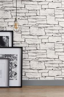 Natural Stone Bricks Wallpaper