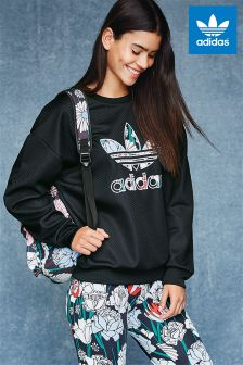 adidas Originals Black Trefoil Sweatshirt