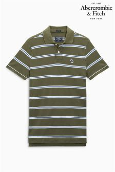 Abercrombie & Fitch Stripe Polo