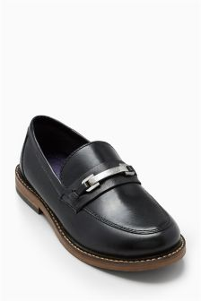 Metal Trim Loafers (Older Boys)