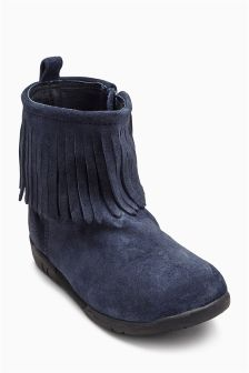 Fringe Boots (Younger Girls)