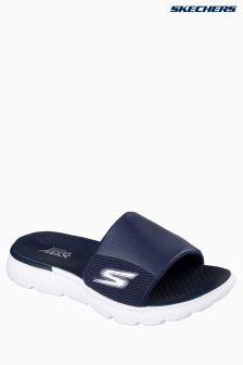 Skechers® Navy On The Go Mesh Slider