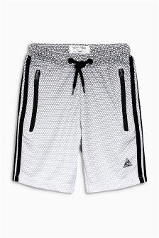 Mesh Print Shorts (3-16yrs)