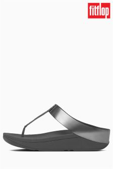 FitFlop™ Pewter Roxy Toe Post