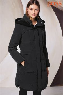 Boss Orange Black Puffer Coat