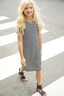 Stripe Tube Dress (5-16yrs)