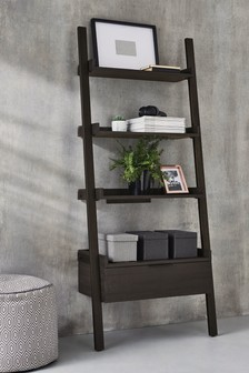 Hudson Dark Ladder Shelf
