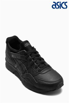Asics Black Leather Gel-Lyte V