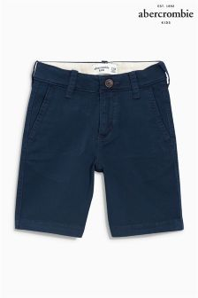 Abercrombie & Fitch Navy Chino Short