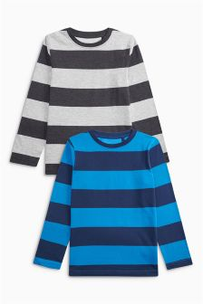 Stripe T-Shirt Two Pack (3-16yrs)
