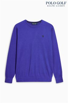 Ralph Lauren Golf Royal Crew Jumper