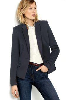 Twill Single Breasted Jacket