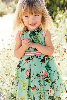 Floral Print Prom Dress (3mths-6yrs)