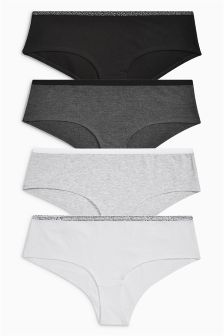 Cotton Short Briefs Four Pack