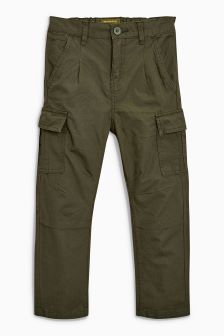Loose Fit Combat Trousers (3-16yrs)