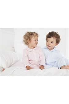 Gingham Traditional Pyjamas (12mths-8yrs)
