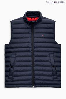 Tommy Hilfiger Navy Packable Down Vest