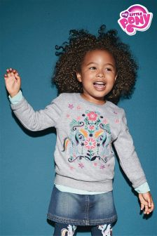 My Little Pony Embroidered Crew Neck Sweatshirt (3mths-6yrs)