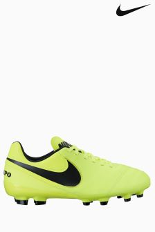 Nike Yellow Tiempo Legend VI Firm Ground Football Boot
