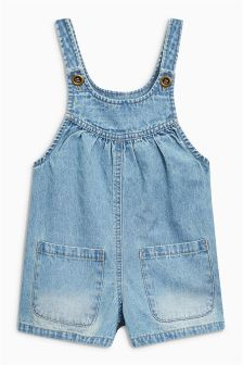 Denim Playsuit (3mths-6yrs)