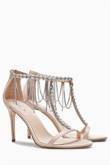 Bridal Ankle Chain Sandals