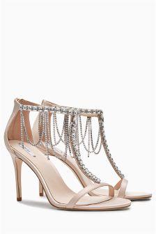 Bridal Ankle Chain Sandals