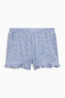 Supersoft Ruffle Hem Shorts