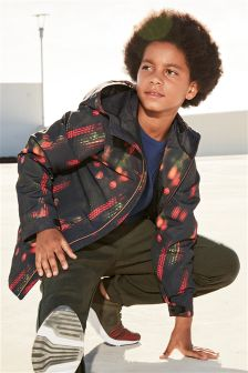 Sporty Printed Anorak (3-16yrs)