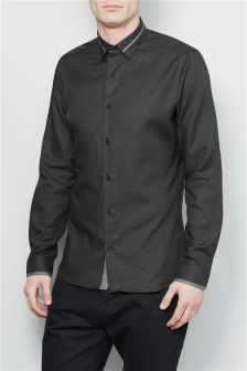 Split Collar Shirt