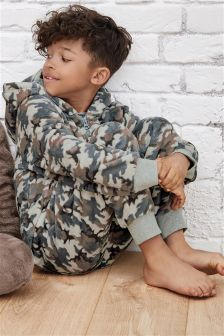 Camo Fleece All-In-One (3-16yrs)