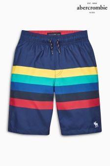 Abercrombie & Fitch Multi Stripe Swim Short