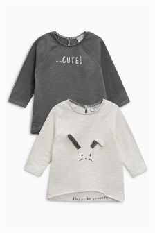 Bunny Tops Two Pack (3mths-6yrs)