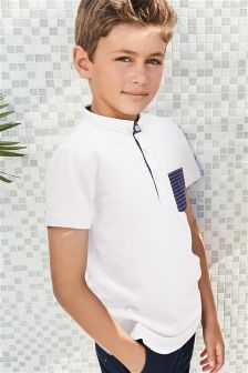Stripe Pocket Poloshirt (3-16yrs)