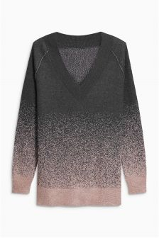 Ombre Pattern Sweater