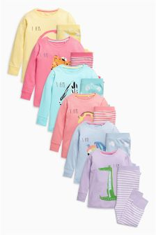 Printed Pyjamas One Pack (12mths-6yrs)