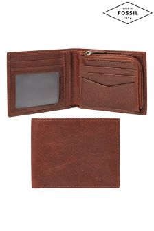 Fossil™ L Zip Leather Wallet