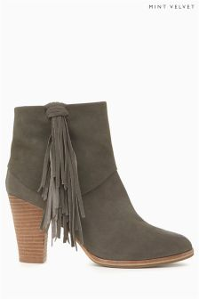 Mint Velvet Tassel Boot