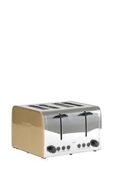 4 Slot Gold Effect Toaster