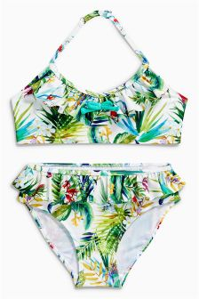 Floral Print Bikini (3-16yrs)