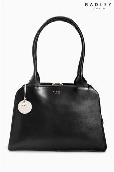 Radley® Black Millbank Medium Zip Top Tote