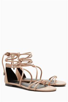 Tube Knot Sandals