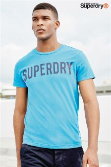 Superdry Blue Solo Sport T-Shirt