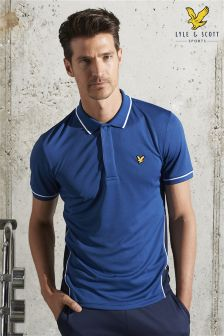 Lyle & Scott Blue Skelton Polo