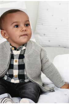 Zip Cardigan (0mths-2yrs)