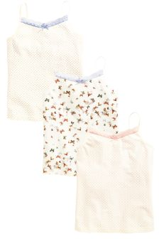 Camis Three Pack (3-16yrs)