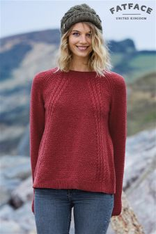 Fat Face Redwood Leona Cable Jumper