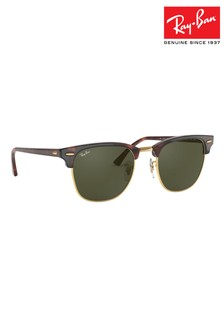 Ray-Ban® Tortoiseshell Clubmaster Sunglasses
